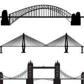 Most sada — Stock vektor