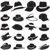 Fashion hat vector — Stock Vector