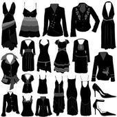 Fashion dress vector — Stock Vector