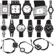 Fashion watch  set — Stockvektor