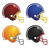 American football helmet — Stock Vector