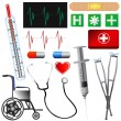 Medical set — Vettoriale Stock #8805129
