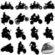 Set of motorcycle — Stock Vector #8805612