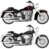 Motorcykel detalj illustration — Stockvektor