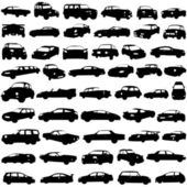 Set of cars — Stock Vector