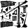 Royalty-Free Stock Vector Image: Construction objects vector