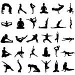 Yoga vector — Stock Vector #8939917