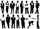 Fashion men vector (clothes detail) — Stock Vector