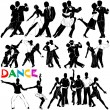 Stock Vector: Dance vector (clothes detail)