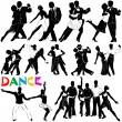 Dance vector (clothes detail) — Stock Vector