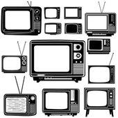 Television vector — Stock Vector