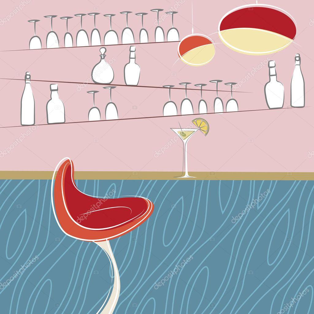 Drinking Bar Design Stock Vector Bogalo 9178115