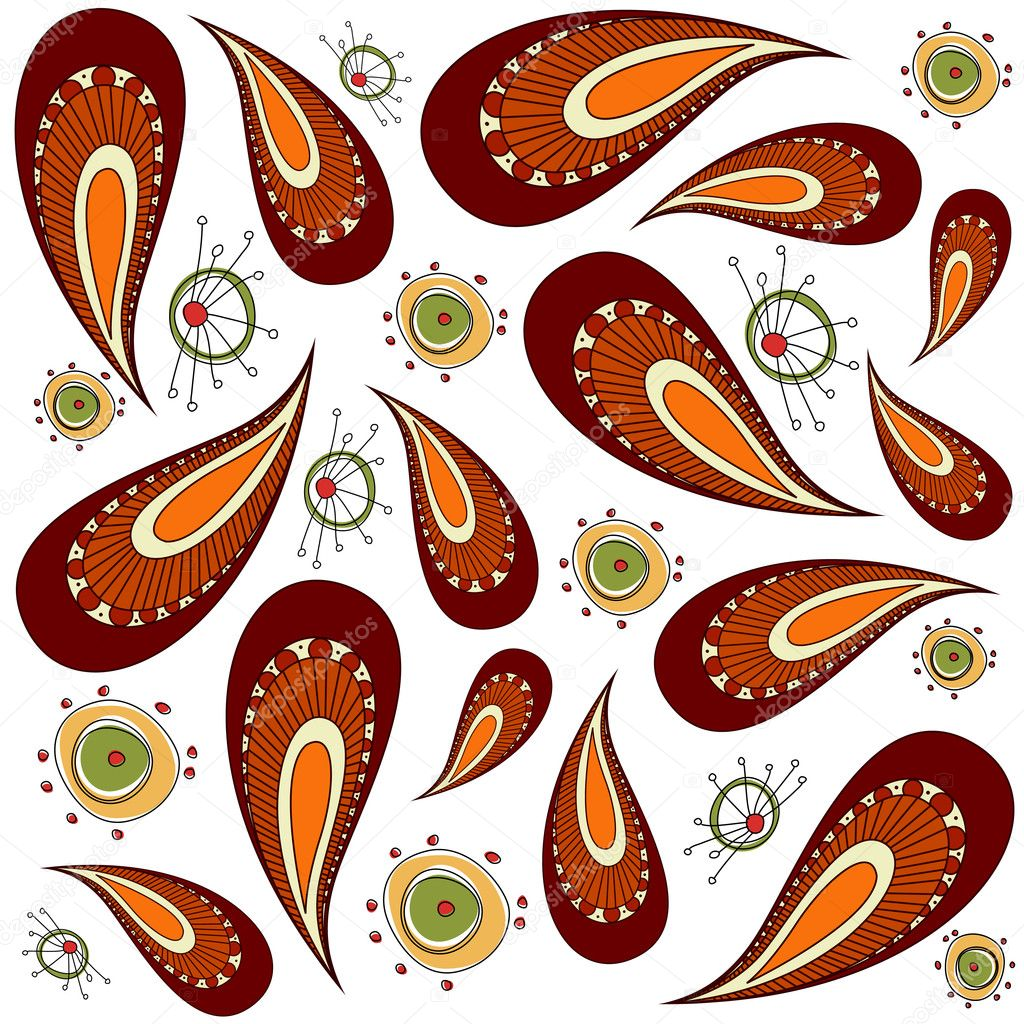 Decorative pattern vector — Grafika wektorowa #9180874