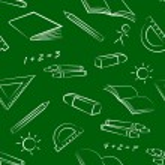 patroon Briefpapier object — Stockvector