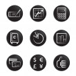 Office object icon — Stock Vector #9465009