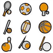 Sport object icon — Stockvektor