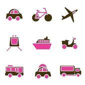 ícone de veículos — Vetor de Stock