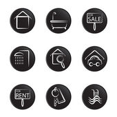 Household object icon — Vector de stock