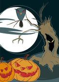 Happy halloween design — Stock Vector