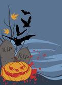 Happy halloween projekt — Wektor stockowy