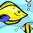 Fish graphic — Vector de stock #9510435
