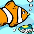 Fish graphic — Vector de stock #9510445