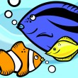Vector de stock : Fish graphic