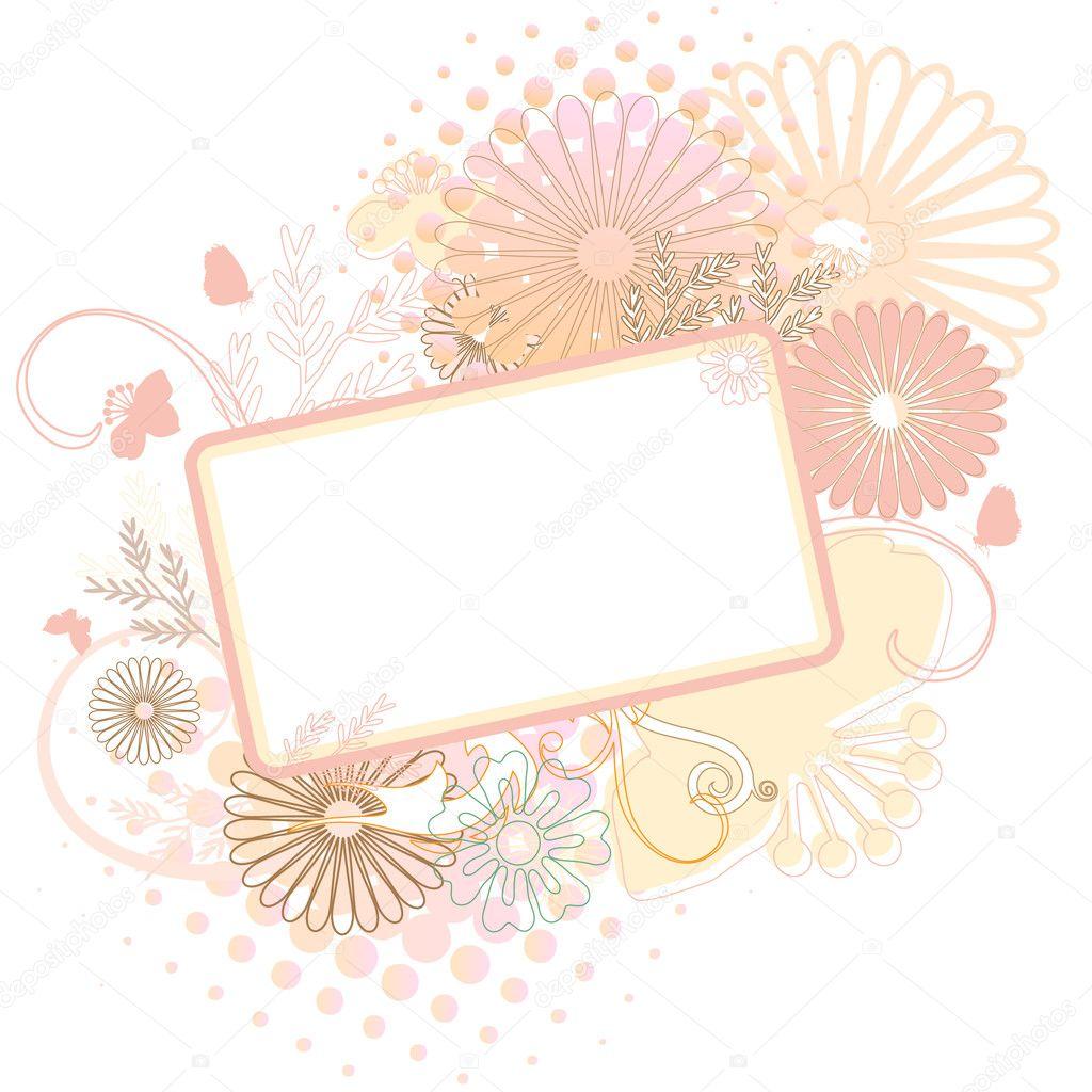illustration soft floral - photo #15