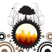 Cityscape design — Stock Vector