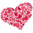 Stock Vector: Decorative heart