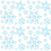 Snowflakes background — Vecteur