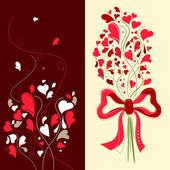 Floral love — Stock Vector