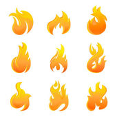 Fire symbol — Stock Vector