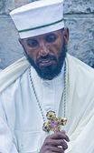 Etiopské svatý oheň obřad — Stock fotografie