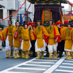 Jidai matsuri festival — Foto Stock