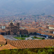 Cusco cityscape — Stock Photo