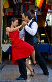 Tango in buenos aires — Stockfoto