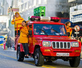 Carnevale a montevideo — Foto Stock