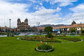 Cusco plaza de armas — Photo