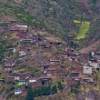 Village in the Sacred valley — Stock Photo