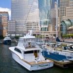 New York marina — Stock Photo