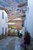 Rue à cusco — Photo