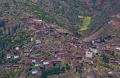 Village dans la vallée sacrée — Photo