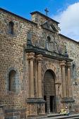 Cusco kerk van santo domingo — Stockfoto