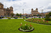 Cusco plaza de armas — Stockfoto