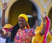 Cartagena de Indias celebration — Stock Photo
