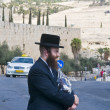 Stock Photo: Jew in old Jerusalem
