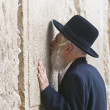 Stock Photo: Prayer in Western wall