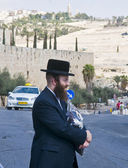 Jew in old Jerusalem — Stock Photo