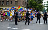 New York gay pride — Stock Photo
